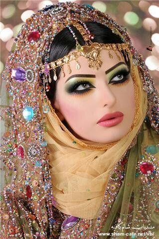maquiagem indiana quase brasileira