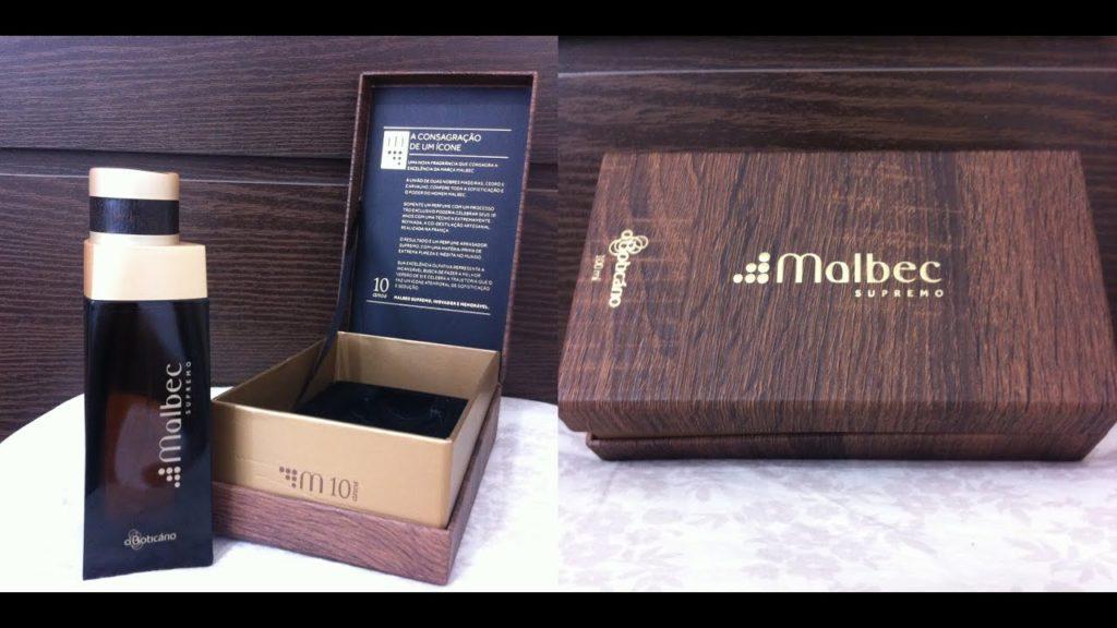 supremo com caixa original de madeira